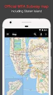 New York Subway MTA Map NYC Für PC Windows & Mac