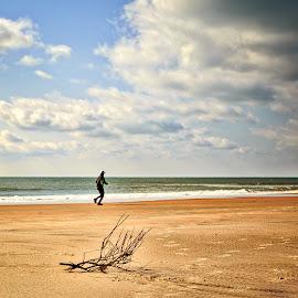 by Lou Plummer - Landscapes Beaches