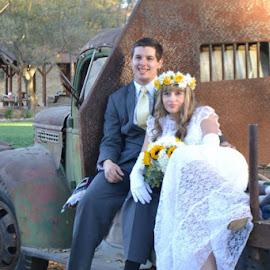 by Lorressa Padilla - Wedding Bride & Groom