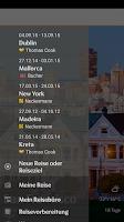 Screenshot of Thomas Cook Travelguide