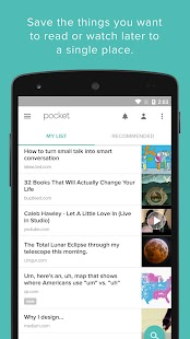 Pocket APK for Blackberry