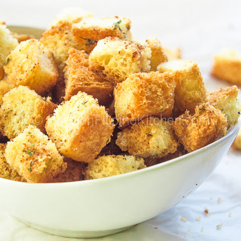 Homemade Croutons Recipe | Yummly