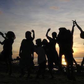 God, Grant Us Your Grace! by Dickson   Shia - Babies & Children Children Candids ( sunset, action, kids )