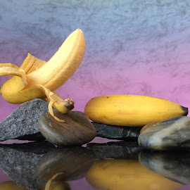 Bananas by Janette Ho - Food & Drink Fruits & Vegetables