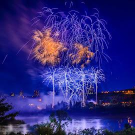 Firework Celebration by Joseph Law - Public Holidays July 4th