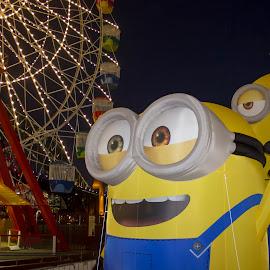 Minions by Jason Kryger - City,  Street & Park  Amusement Parks ( luna, park, 20o15, sydney, mninions )
