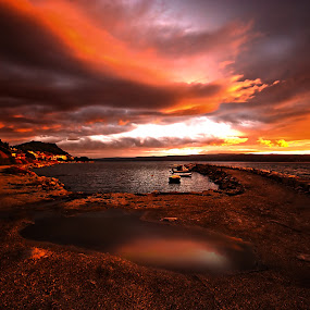 The War of the Worlds III by Ivana Miletic - Landscapes Weather ( clouds, croatia, sea, weather, long exposure, ivana miletic, light )