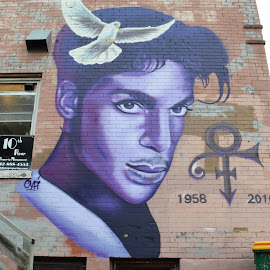 Prince Forever by LINDA HALLAUER - City,  Street & Park  Street Scenes