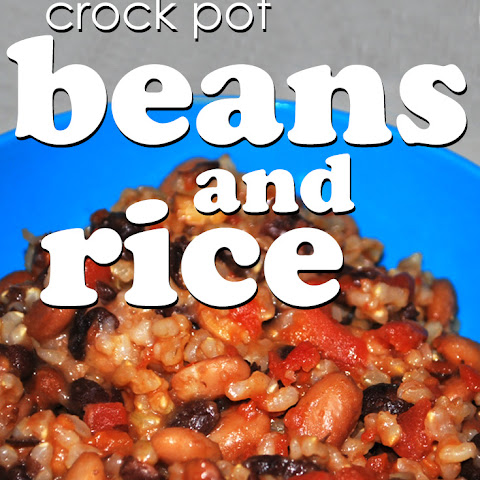 Crock Pot Beans and Rice