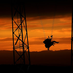 Slingshot by Mike Mills - City,  Street & Park  Amusement Parks