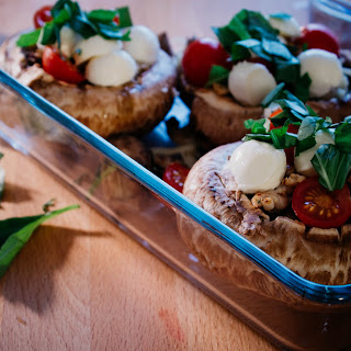 Chicken Stuffed Portobello Mushrooms Recipes