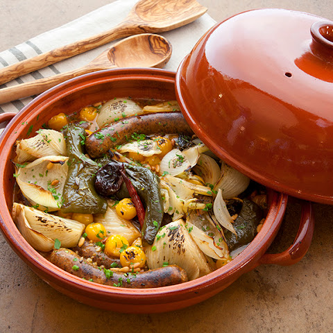 Sausage and Pepper Tagine
