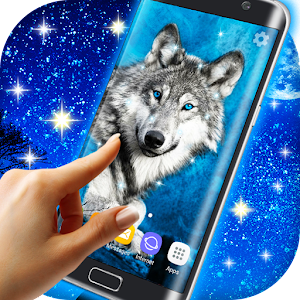 Wolf Live Wallpaper HD Icon