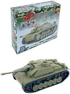 """4D Пазл cерии """"Город Игр"""" танк """"M1A2 Abrams"""" M"""