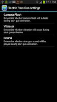 Screenshot of Electric Stun Gun