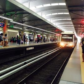 arrived... by Roan Biguasen - Transportation Trains