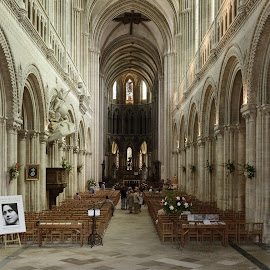 Cathedral Bayeaux France by Stephen Beatty - Buildings & Architecture Places of Worship (  )