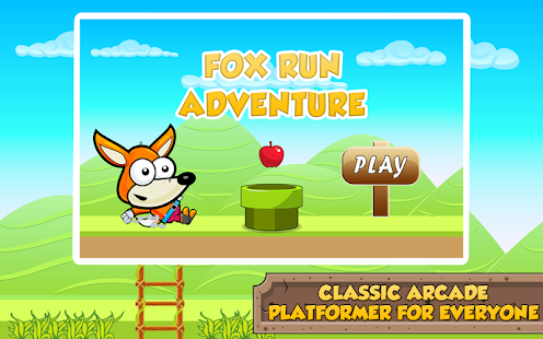 Fox Jungle Run Adventure - screenshot