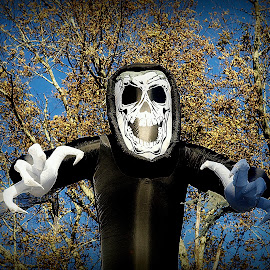 Happy Halloween by Kenneth Cox - Public Holidays Halloween ( scary, autumn, decoration, weird, halloween )