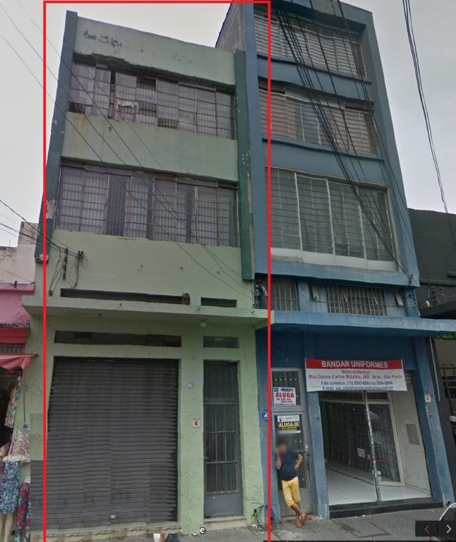 Prédio Comercial à venda/aluguel, Brás, São Paulo