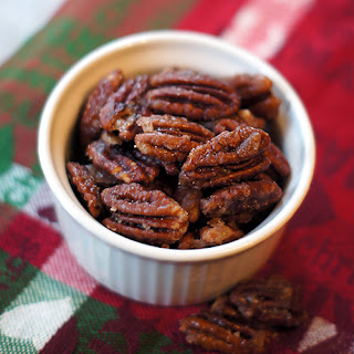 Toasted Spiced Rum Pecans