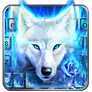 Surreal Wolf Keyboard Theme For PC