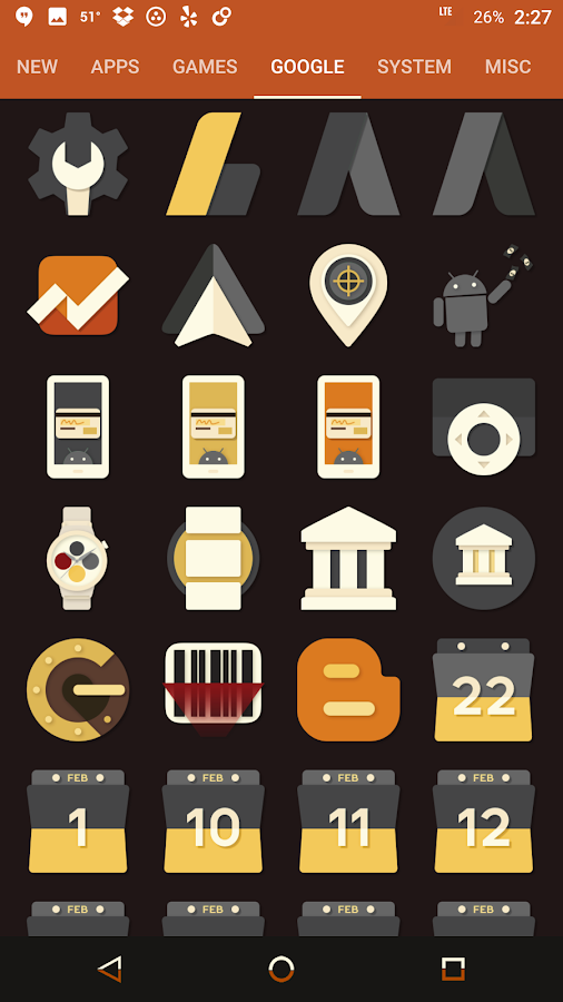 Saturate - Free Icon Pack Screenshot 7