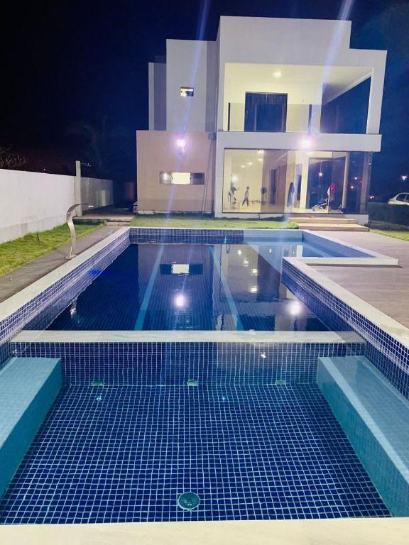 Casa nova, com 05 quartos no Condomínio Chácaras de Carapibus!