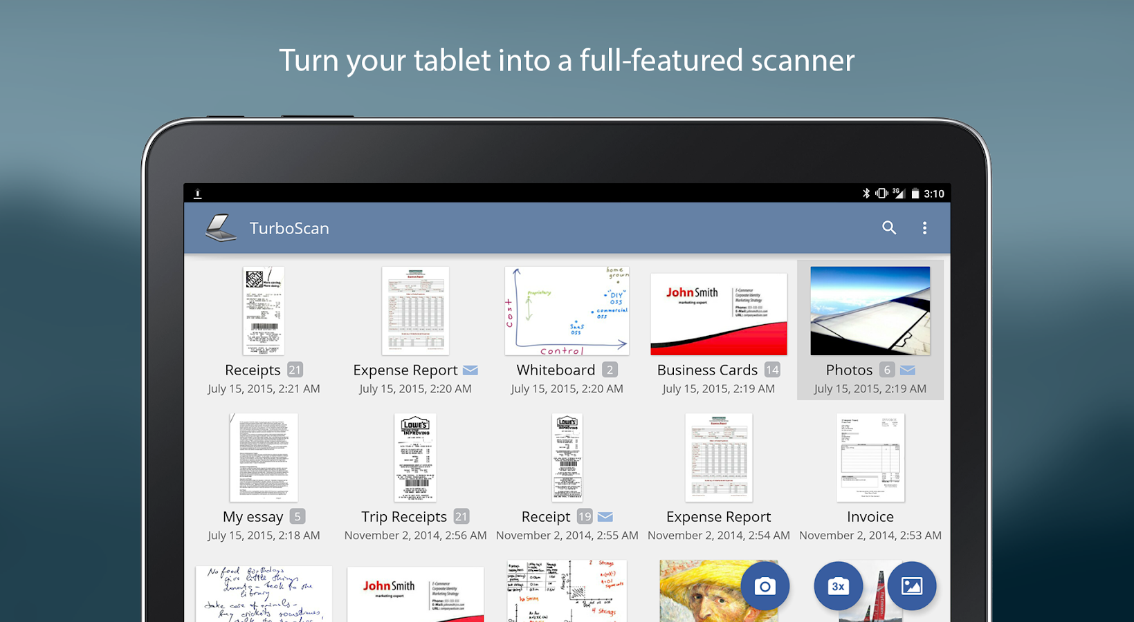TurboScan: scan documents and receipts in PDF Screenshot 12