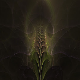 The Curtsy by Rick Eskridge - Illustration Sci Fi & Fantasy ( fantasy, jwildfire, curtsy, fractal, twisted brush )