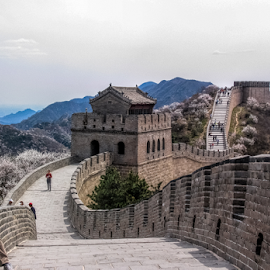 The Great Wall by Vibeke Friis - Buildings & Architecture Public & Historical ( the great wall, travel, china,  )