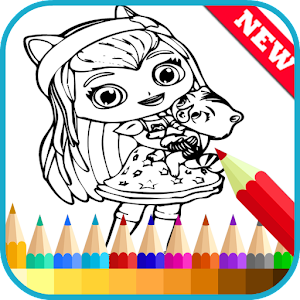 Coloring Books Little Charmers