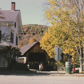 Woodstock vt by Stephen Deckk - City,  Street & Park  Neighborhoods (  )