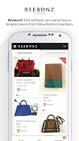 Screenshot of Reebonz: Buy & Sell On The Go