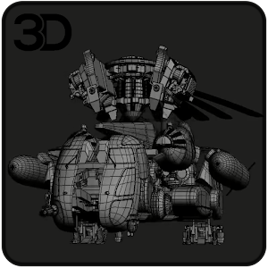 Helicopter Transformer 3D