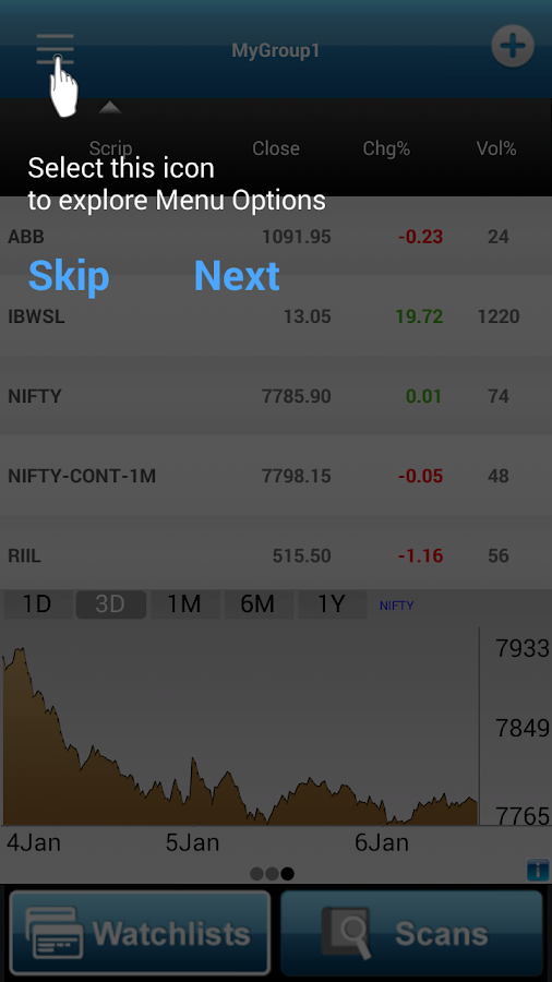 Investar: Indian Stock Market Screenshot 3