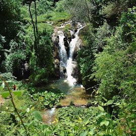 WATERFALLS  by Wojtylak Maria - City,  Street & Park  City Parks ( hill, waterfalls, park, view, italy )