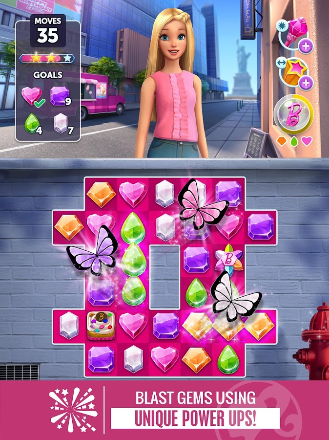 Barbie Sparkle Blast Screenshot