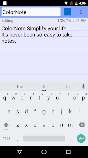Free ColorNote Notepad Notes APK for Windows 8