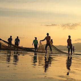 Tarek Pukat by Riza Umary - Landscapes Sunsets & Sunrises