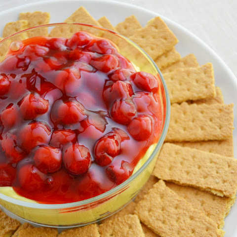 Cherry Lemon Cheesecake Dip