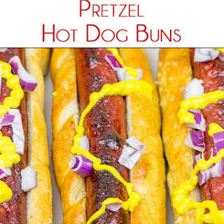 Pretzel Hot Dog Buns