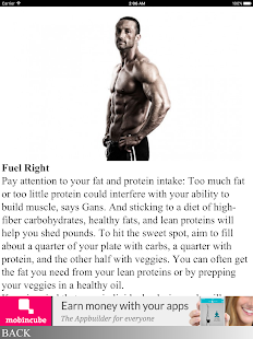 Build Muscle and Lose Fat - screenshot
