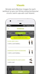 Fit and Thick Fitness app screenshot for Android