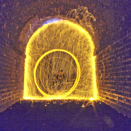 by Mike Ross - Abstract Light Painting (  )