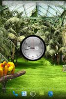 Screenshot of Clock Live Wallpaper Free