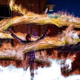 Firestarter by Adam Snyder - Abstract Fire & Fireworks