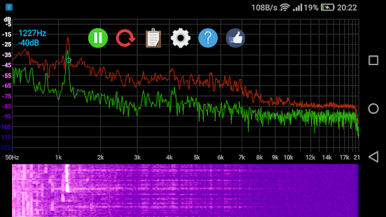 Speccy 📊 Spectrum Analyzer Screenshot
