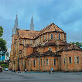 Notre-Dame Cathedral HCMC by Sucipto Darmaputra - Buildings & Architecture Places of Worship ( old, building, church, viet nam, beautiful, vietnam, cityscape, travel, saigon, ho chi minh city, basilica, south east asia, traveling, asia, cathedral, hcmc, travel photography, travel locations,  )