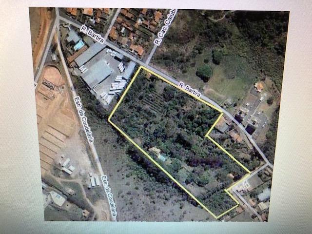 Área residencial à venda, Vila Ipê, Campinas.